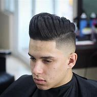 Men with Pompadour Hairstyles