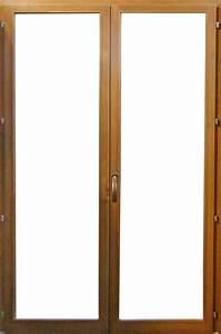 Porte fenetre bois 68mm 2 vantaux vial menuiserie for Double porte fenetre