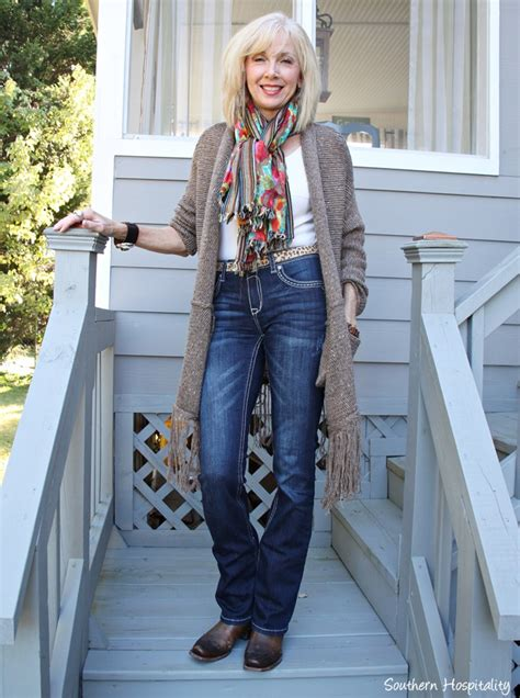 Fashion Over 50 Long Sweaters - Southern Hospitality
