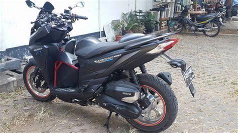 Vario 150 2015 Modif by Modifikasi Honda Vario 150 Ban Gambot Orongorong