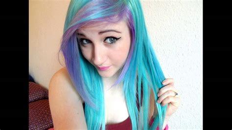 Permanent Blue Hair Dye For Dark Hair Best Brands Youtube