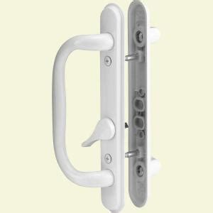prime line sliding door handle set white c 1284 the
