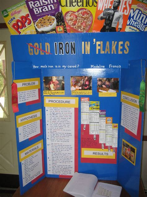 Cereal Science Library Ideas Pinterest Science Fair