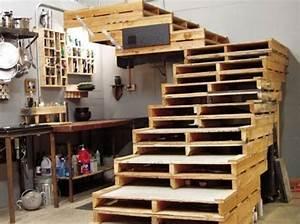 palette deco bricolage maison et decoration With maison en palettes de bois