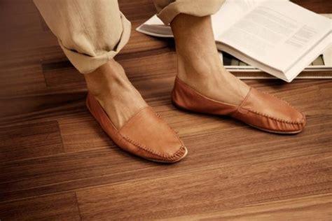handmade leather house slippers gentlemint