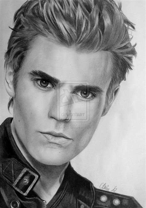 He wanted bree's advice for how to open the tomb, but bree initially offered him little hope of getting it open. WOW! Incredible drawing of Paul Wesley aka Stefan ...