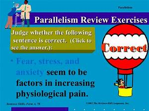 Parallelism Ppt