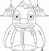 Pennywise Coloring Pages Clown Print Printable Getcolorings sketch template