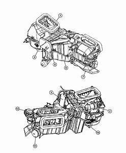 2013 Jeep Wrangler Heater Kit  Heater Core Assembly