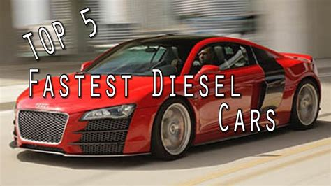 Fastest Production by Top 5 Fastest Diesel Production Cars