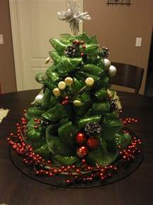 how to put mesh on christmas tree share the knownledge
