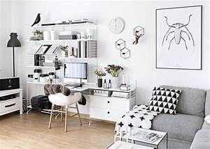 17, Stylish, Scandinavian, Office, Designs, For, Small, Homes