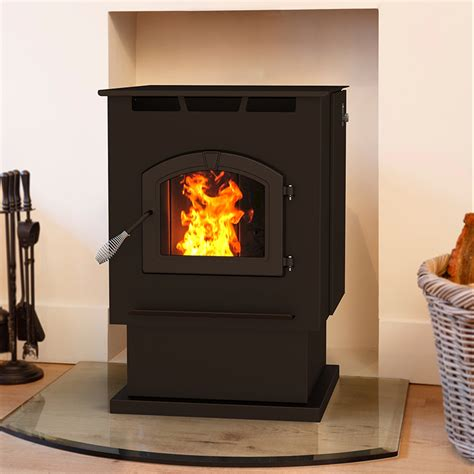 pleasant hearth large pellet stove ghp group