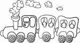Train Coloring Cartoon Pages Dinosaur Drawing Kindergarten Brilliant Draw Printable Entitlementtrap Getcolorings Getdrawings sketch template