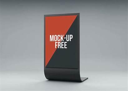 Stand Display Mock Mockup Kiosk Behance Candacefaber