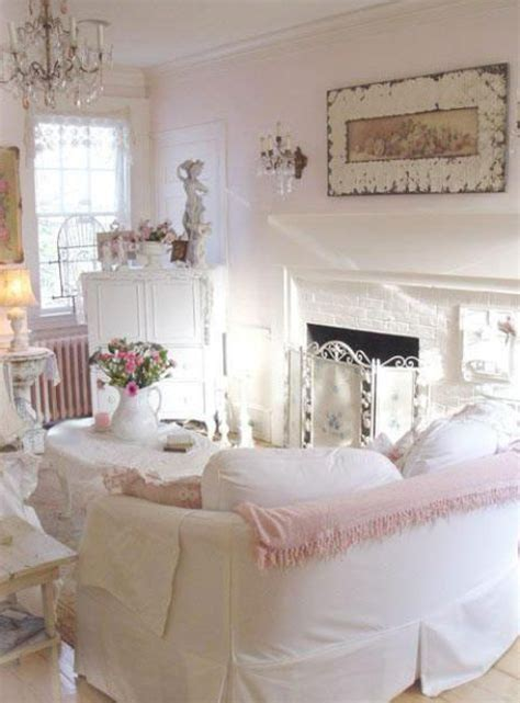 white shabby chic rooms 26 charming shabby chic living room d 233 cor ideas shelterness