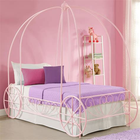 Dhp Twin Canopy Bed Reviews Wayfair