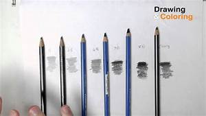 Pencil Hardness  The Only Pencils You Need  Short Version