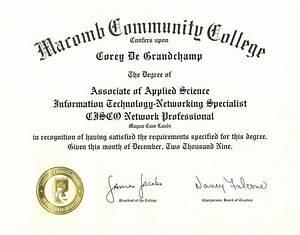 Credentials | Corey DeGrandchamp