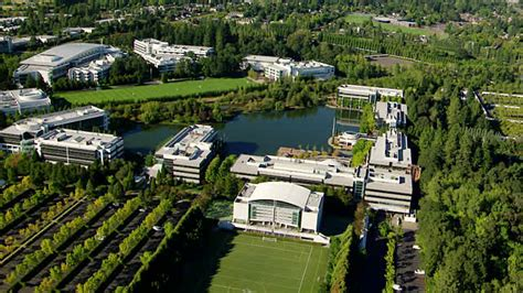 siege social nike ms aerial nike headquarters oregon united states
