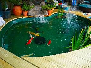 Bed dressing ideas, small koi pond design koi fish pond