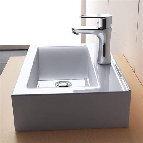 indogate lavabo salle de bain rectangulaire