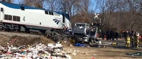 Train Carrying Members Of Congress Involved In Accident