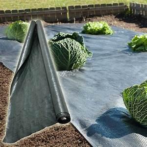 Bache De Sol : bache pour parterre de fleur toile de sol anti herbe ~ Melissatoandfro.com Idées de Décoration