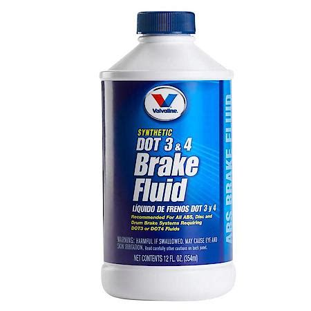 Valvoline DOT 3 and 4 Synthetic Brake Fluid (12 oz ...