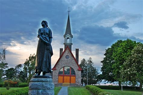 Grand Pre Acadian Church Grand Pre Nova Scotia was the