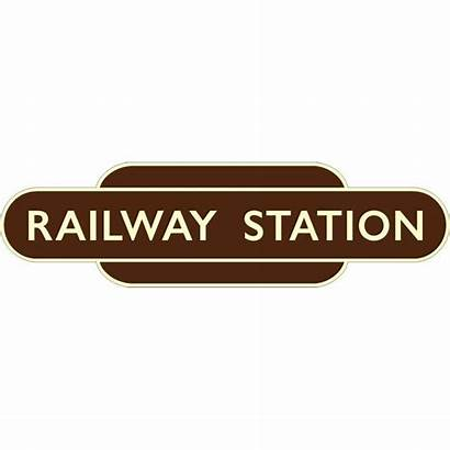 Station Railway Gloucester Eastgate Signs Speciality Sign