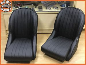 siege baquet vintage pair bb vintage retro car seats low