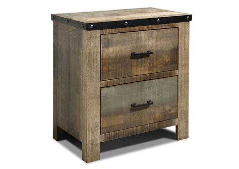 Colored Nightstands by Jarons Antique Multi Color Nightstand
