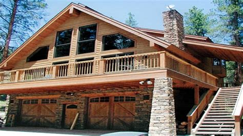 Chalet House Plans With Garage Under Swiss Chalet House