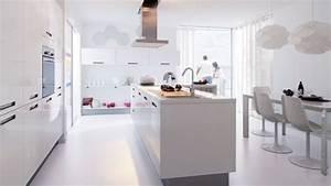 Les Plus Belles Cuisines : en photos les plus belles cuisines blanches cuisine ~ Voncanada.com Idées de Décoration