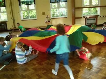 Elementary Parachute Games Miss Fun Least Things