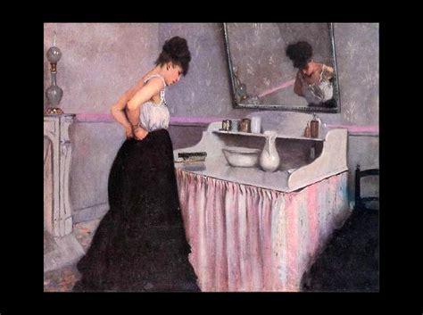 femme en toilette de bal un motif tr 232 s fr 233 quent en peinture la femme 224 sa toilette site du coll 232 ge frank