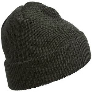Wool Stocking Cap Beanie Hat