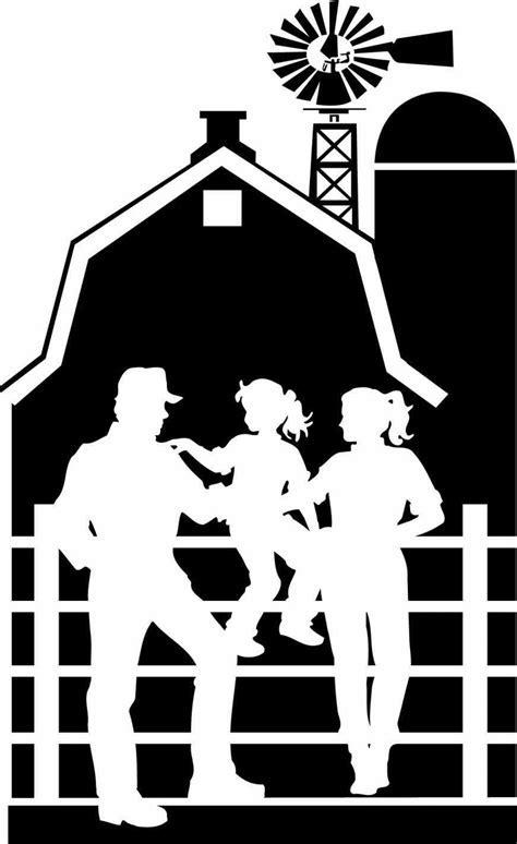 farmhouse clipart black and white   ARCH.DSGN