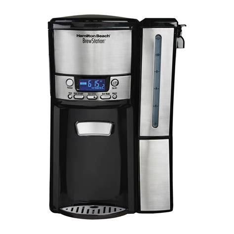 While i was working on the hamilton beach product reviews, i did try all the brewing settings on this. Hamilton Beach BrewStation 12 Cup Dispensing Coffee Maker & Reviews | Wayfair