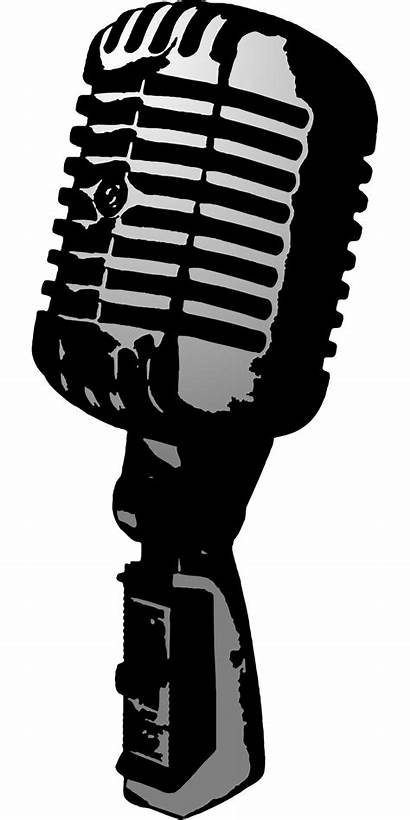 Microphone Clipart Mic Drawing Microphones Clip Classic