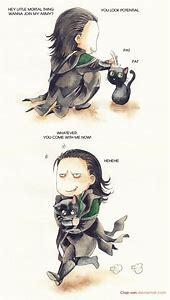 Thor and Loki Cute