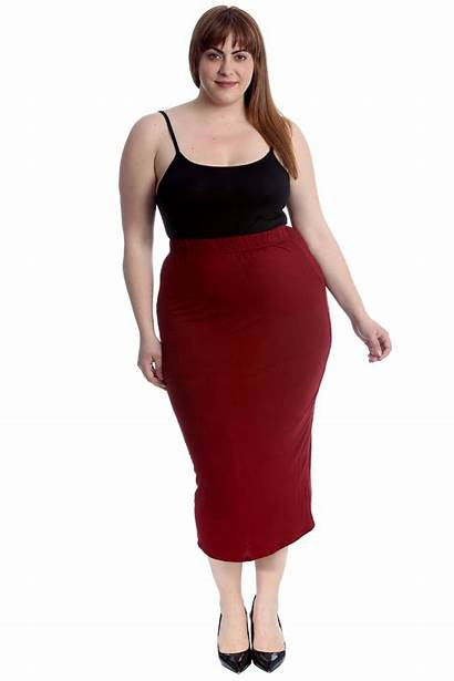 Skirts Pencil Skirt Office Stretch Bodycon Ladies