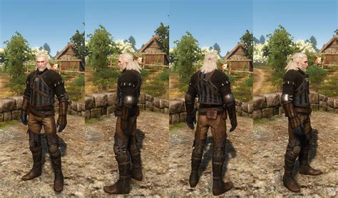 Temerian Armor Set DLC   The Witcher 3