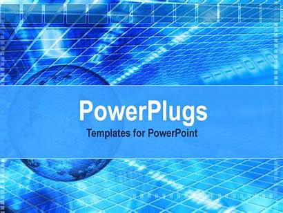 Background Powerpoint Moving Digital Text Template Place