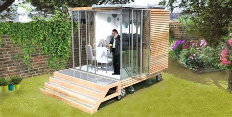 bureau jardin le cube bureau un cube dans mon jardin