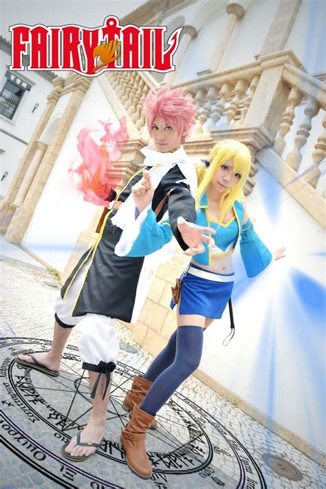 fairy tail natsu lucy cosplay fairy tail cosplay