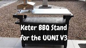 Keter Bbq Station For The Uuni Pizza Oven - Review