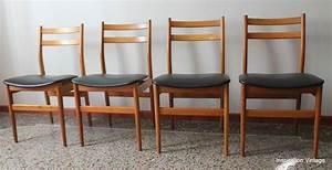Chaise Scandinave Verte : chaises style scandinave 70 39 s inspiration vintage ~ Teatrodelosmanantiales.com Idées de Décoration