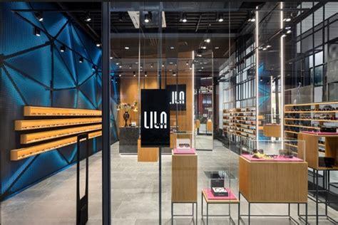 home design for small spaces optical store lila 2 by aleksandar bauer belgrade